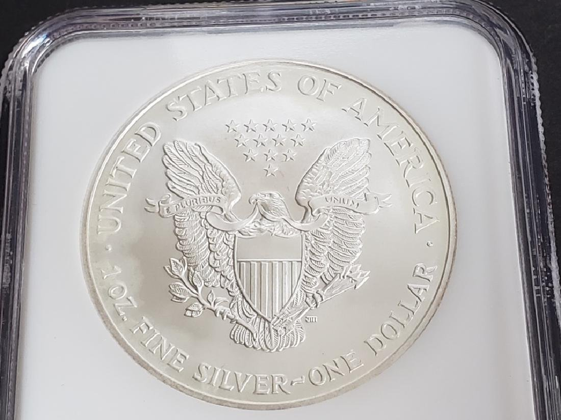 1999 American Silver Eagle NGC MS69 - 5