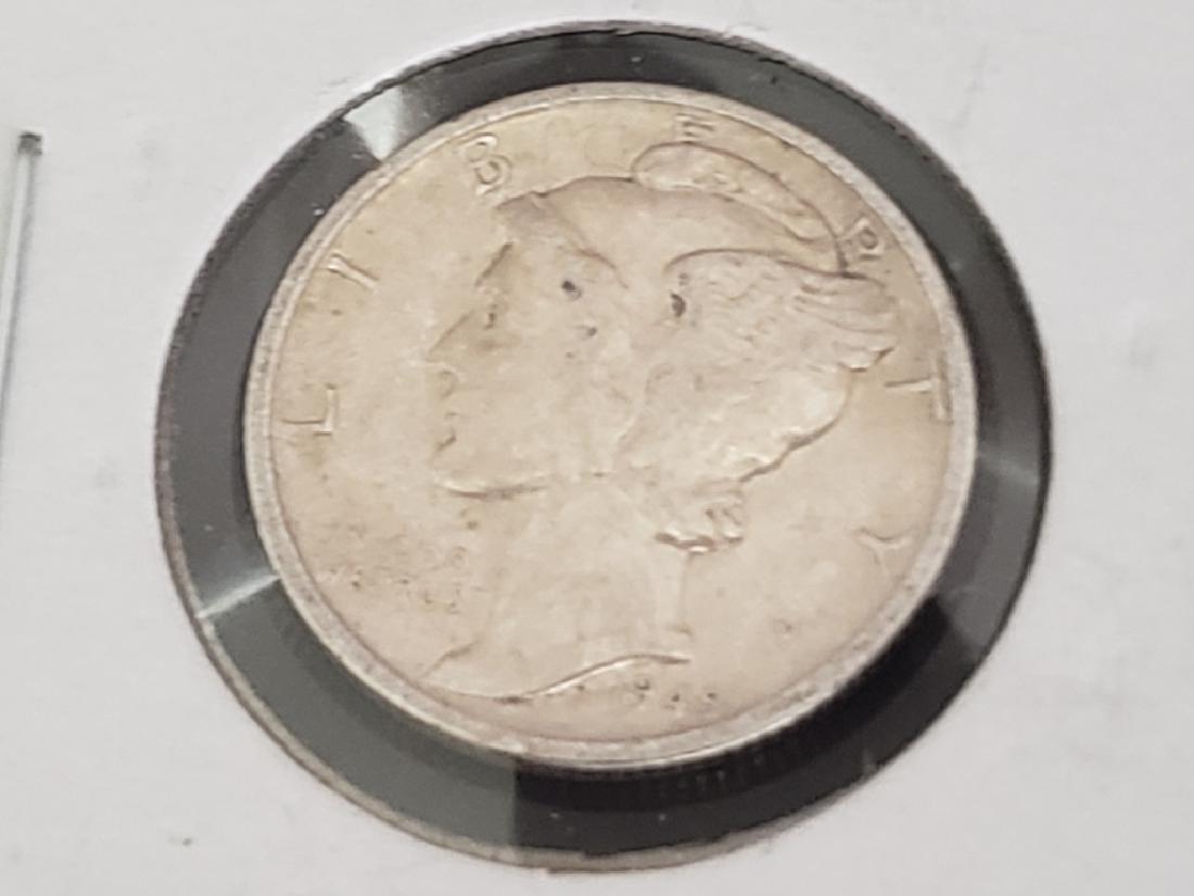 1945 S Mercury Dime - 2
