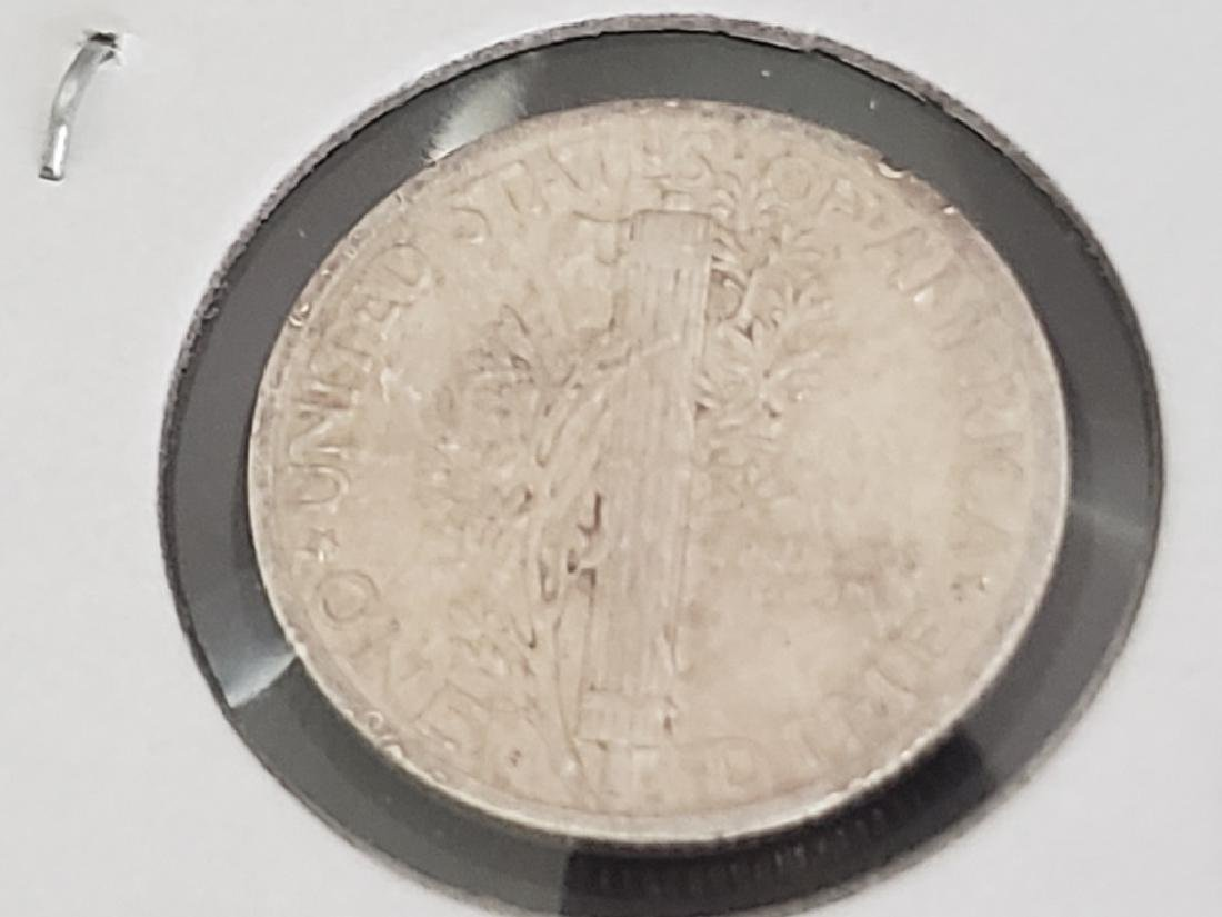 1945 S Mercury Dime - 6