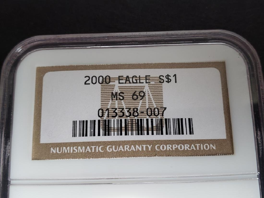 2000 American Silver Eagle NGC MS69 - 2