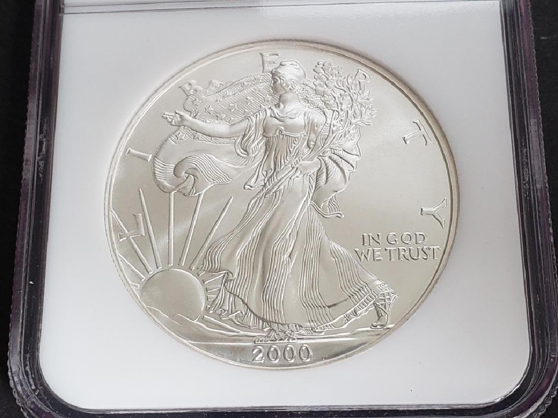 2000 American Silver Eagle NGC MS69 - 4