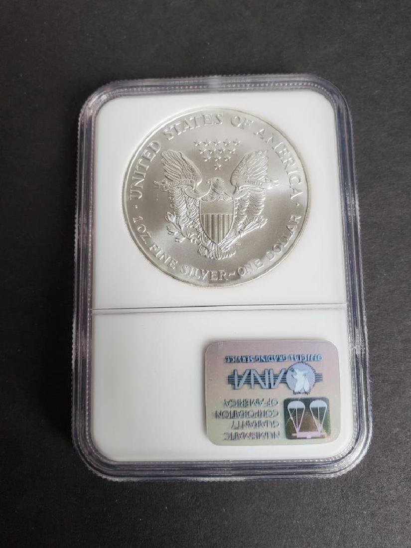 2000 American Silver Eagle NGC MS69 - 5