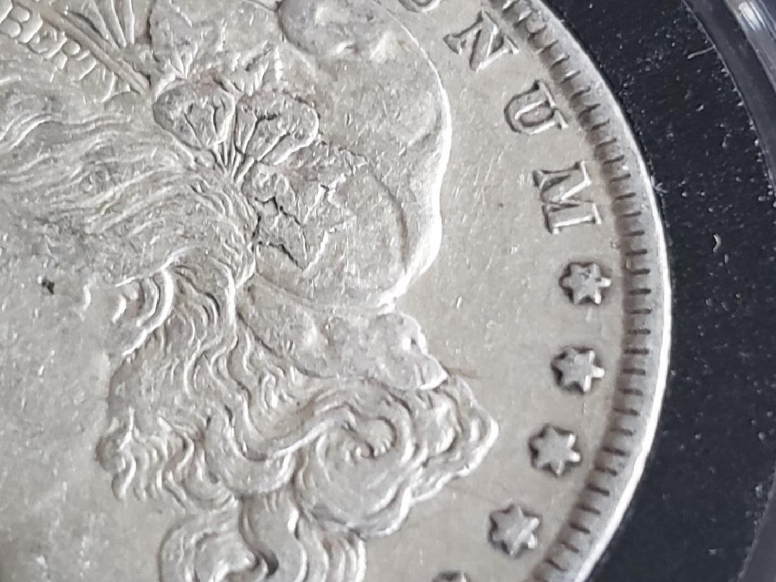 1884 Morgan Silver Dollar - 5