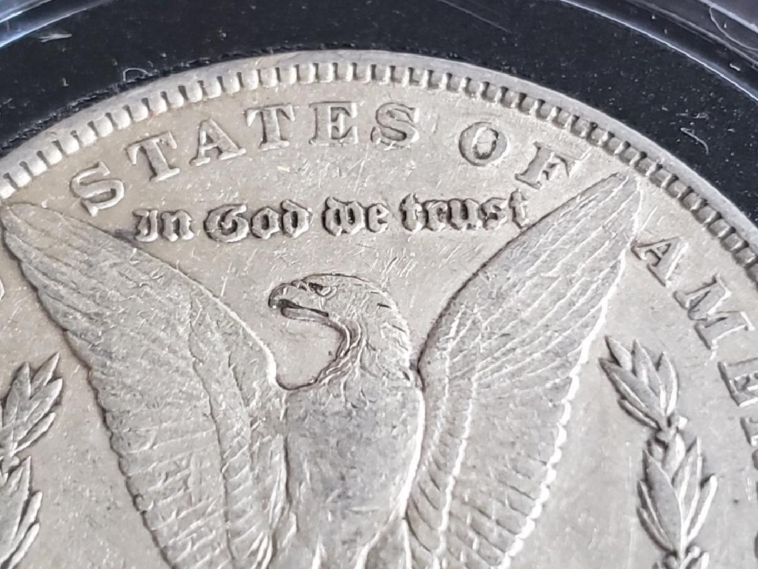 1884 Morgan Silver Dollar - 7