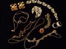 Vintage KJL Coro I Michelson Costume Jewelry