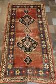 Antique Caucasian Tribal Kazak Rug
