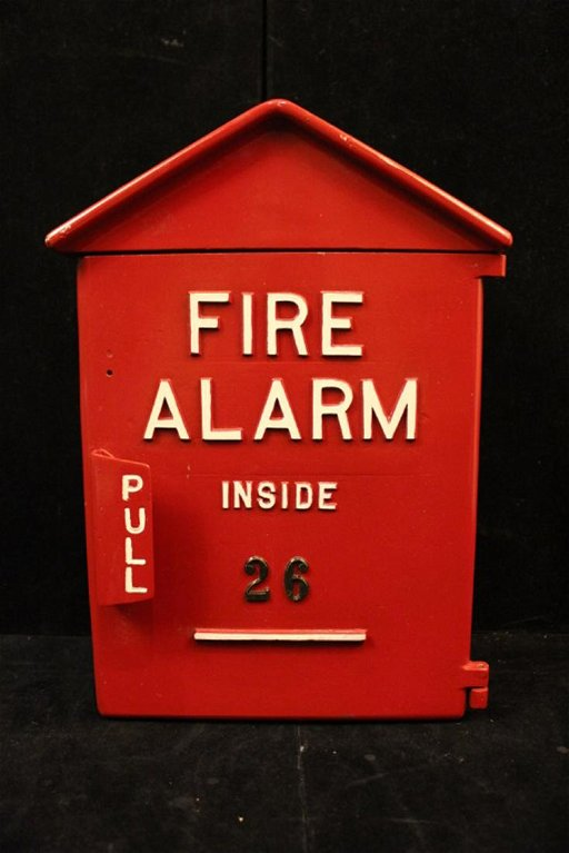 Vintage Notifier Fire Alarm Box