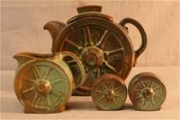Vintage Frankoma Wagon Wheel Pottery