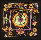 Hermes Brazil Vintage Silk Scarf