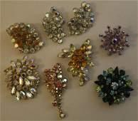 Weiss & Other Rhinestone Costume Jewelry