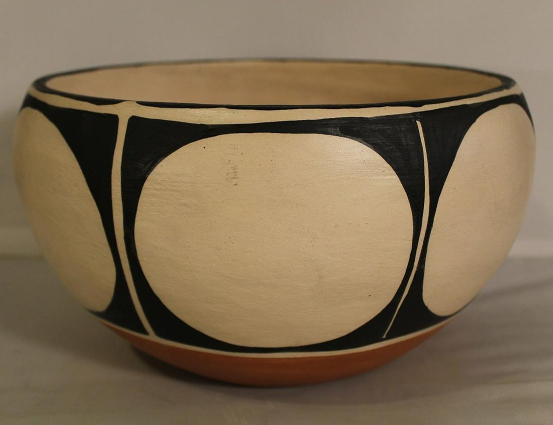 Anna M.T. Lovato Santo Domingo Pottery Bowl