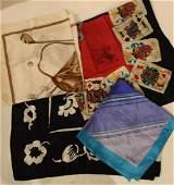 Collection Designer Silk Scarves