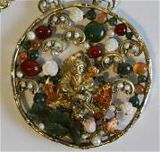 Vintage Swboda Asian Style Necklace