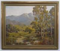 Herbert Sartelle (1885-1955) California Landscape