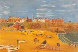 Laurence Stephen Lowry Style Oil Painting