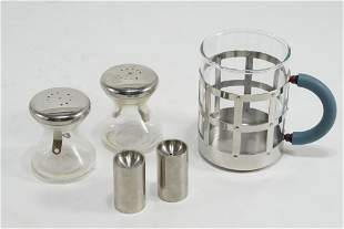 Wagenfeld / Graves / Jacobsen Table Items