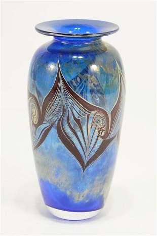 Marc Boutte Studio Art Glass Vase