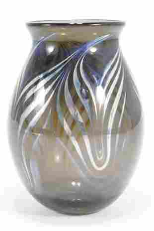Quintin Lake Studio Art Glass Vase