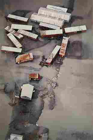 Mark Abrahamson (b. 1944) Cibachrome Print