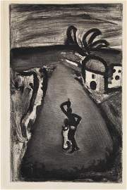 Georges Rouault (1871–1958) Etching
