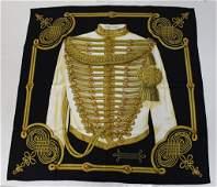 Hermes Brandebourgs Silk Scarf