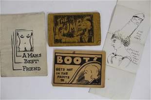 1930s Tijuana Bibles Risque Comics & Drawing