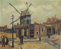 Vintage Van Gogh Copy Oil Painting