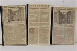 The Gentleman's Magazine London 1736 1769 1774