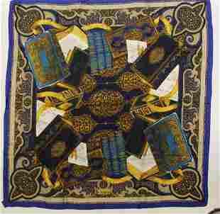 Gianfranco Ferre Shakespeare Silk Scarf