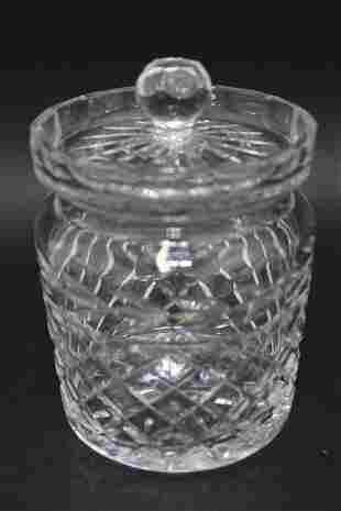 Waterford Crystal Glandore Biscuit Jar