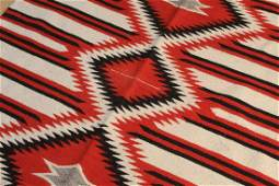 Navajo Style Wool Blanket Rug Weaving