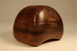 Dean Santner Modernist Sculpture Wood Box