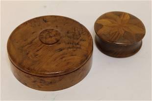 Glen Atkinson (d. 2014, Canada) Turned Wood Box