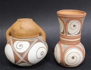 Quibor Lara Venezuela Pottery Vases