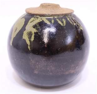 Artist Signed Studio Art Pottery Vase