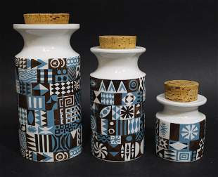 Susan William Ellis for Portmeirion TIVOLI Jars