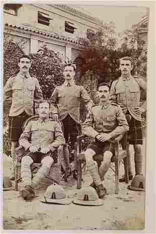 Men in Kilts Antique Photograph RPPC Postcards