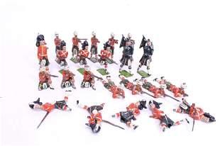 21 WWI Scottish Kilted Britains Ltd. Toy Soldiers