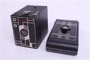 Kodak Beau Brownie Deco & Jiffy Six 16 Cameras