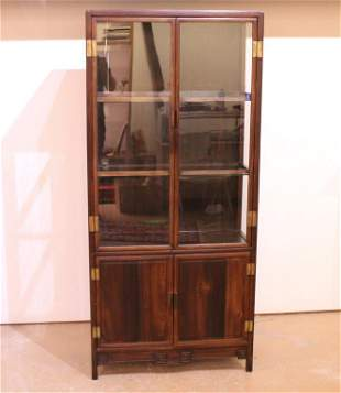 Antique Chinese Ming Style Display Cabinet