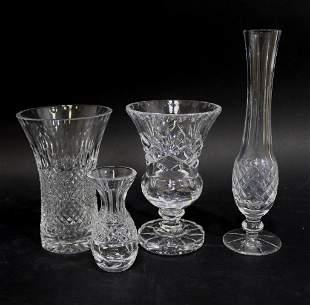 Waterford Crystal Lismore Glandore Bud Vases