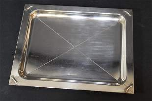 Christofle France Small Silver Plate Tray