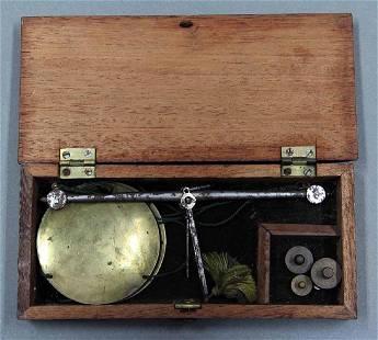 GOLD MINER'S SCALES CIRCA 1850