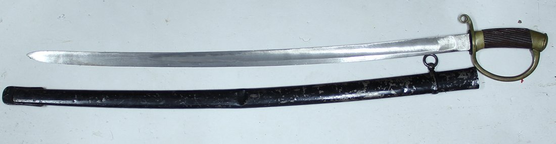 PERSIAN CAVALRY SABER AND SCABBARD