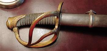 Civil War Cavalry Officer's Saber by PDL