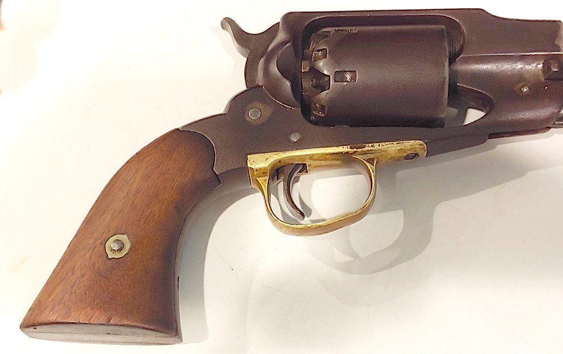 Civil War Remington New Model Army Revolver LOW Serial