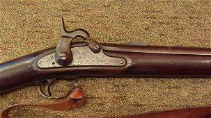 Civil War US 1861 Springfield Musket dated 1862
