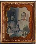 Daguerreotype 2 Firemen or Pioneers or ?