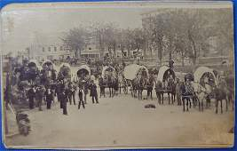 REAL WILD WEST WAGON TRAIN: THE STREETS OF INDEPENDENCE