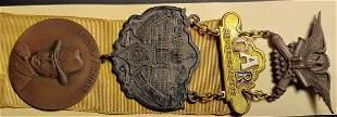 Civil War GAR National Encampment Badge 1933